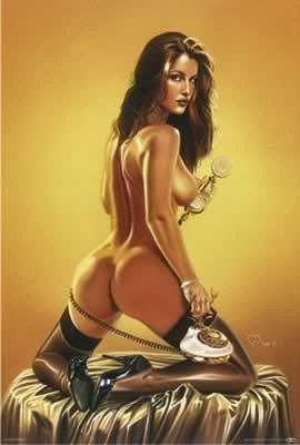 Laetitia - Carlos Diez Poster