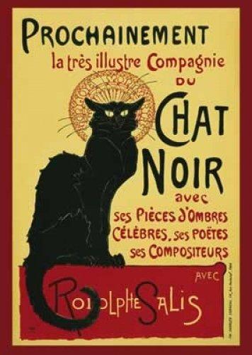 Le Chat Noir Giant Poster