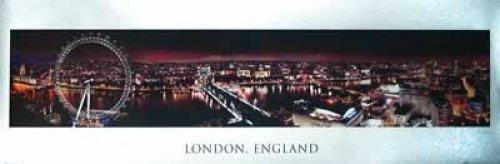 London, England Mini Door Poster