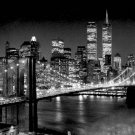 Brooklyn Bridge Art Print - Henri Silberman