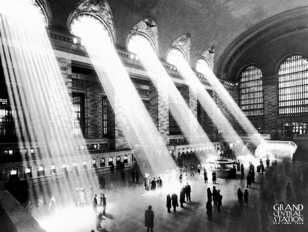 Grand Central Station, New York 1934 Art Print