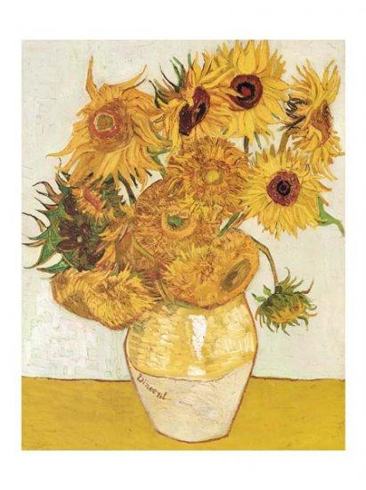 Les Tournesols - Vincent Van Gogh Art Print
