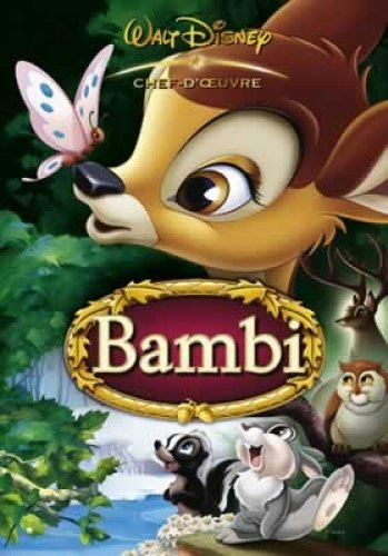 Walt Disney Bambi Movie Poster 2