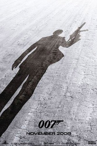 James Bond 007 - Quantum Of Solace Movie Poster