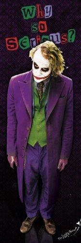 Batman - The Dark Knight Why So Serious? Joker Door Poster