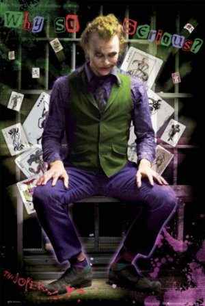 Batman - The Dark Knight : The Joker Movie Poster 3