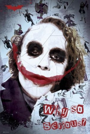 Batman - The Dark Knight : The Joker Movie Poster 4