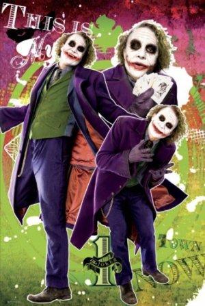 Batman - The Dark Knight : The Joker Movie Poster 5