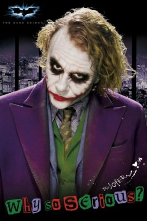 Batman - The Dark Knight : The Joker Movie Poster 7