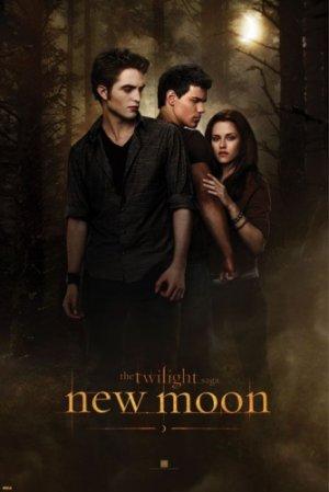 The Twilight Saga - New Moon Movie Poster