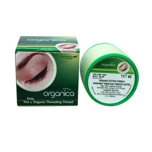 2 Spool Organica Eyebrow Cotton Threading Threads Antiseptic Facial hair Remover