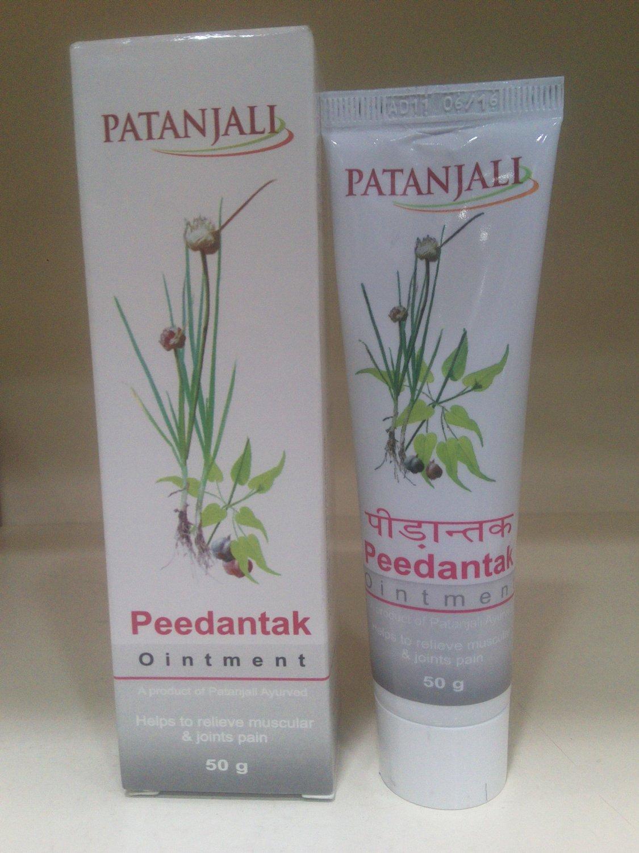 Patanjali 50gm Peedantak Ayurvedic Pain Reliever Ointment Free Shipping