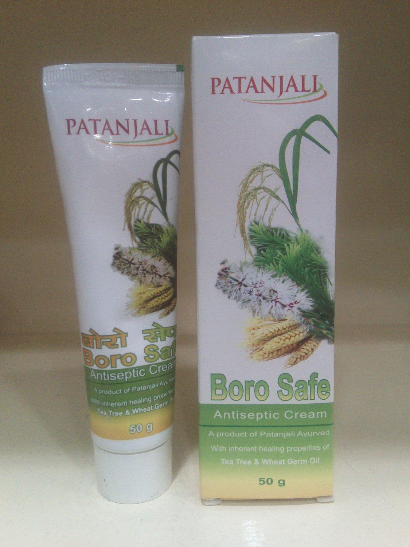 Patanjali Borosafe Anti-septic Cream tea tree & wheat germ oil cream Free Shipp1