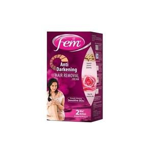 Fem Anti Darkening Hair Removal Cream - 25 gm