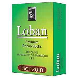 2 x Loban Zed Black Premium Dhoop Sticks 20 Stick Pure NaturaI Dhoop + Shipping