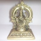 MAA LAXMI LAKSHMI HINDU DEITY GODDESS RICH WEALTH & LUCKY ANTIQUE MINIATURE