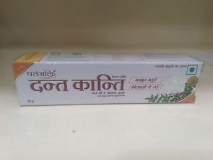 Baba Ramdev 3x Dant Kanti Herbal Tooth Paste Free Shipping