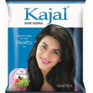 Kajal hair henna (NATURAL BALCK)15gms x 10packs