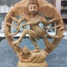 Natraja Shiva Natraj wood Carving Hindu God Dancing Rare Nataraj Statue Art deco