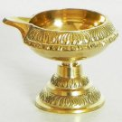 2X Brass Kuber Diya Oil lamp Hindu Puja Christmas Light Gift Navratra NAVRATRI