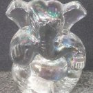 Beautiful Glass Made Blessing Ganesha Statue Sculpture Rare Statue + Shipping$