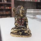 Brass Hindu God Lord Shiva God Puja Idol Shiva Home Decor Art Free Shipping $$$