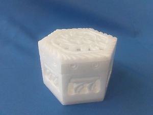 "Spacial White Marble Jali Carving work 2.5""x3x1.5 Inch  jewelry box,trinket box"