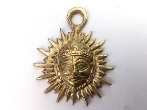 Rare Royal Symbol of Suryavanshi 100% pure brass For Wall hanging Home Decor