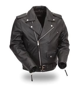 FIRST MANUFACTURING KIDS CLASSIC LEATHER JACKET FMC001SGP