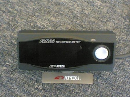Apexi Rev/ Speed Meter (Black) MYR 1100
