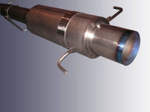 Uras Full Titanium Exhaust System MYR 500