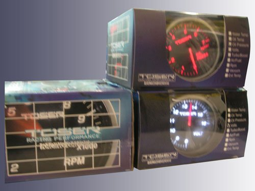 Toser Gauges 60mm MYR 400