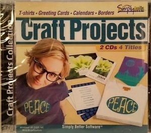 Craft Projects Collections T-Shirts Cards More 2 CD's 4 Titles Simply Media