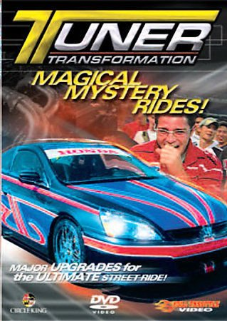 Tuner Transformation - Magical Mystery Rides ! DVD 2007 Speed Channel 120 Min