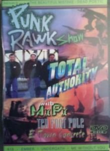 Punk Rawk Show - Total Authority (DVD, 2003) Music