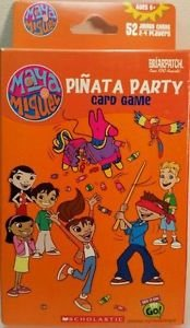 Briarpatch Pinata Party Card Game 2-4 Players 52 Jumbo Cards - Maya & Miguel NIB