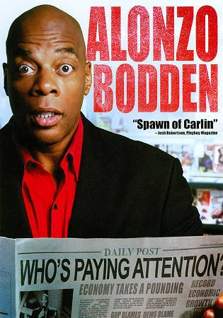 Alonzo Bodden: Who's Paying Attention? DVD 2011 Comedy New Sealed