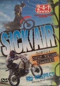 Sick Air and BONUS Respect Cult Video Classic 2006 DVD New 2-4-1 VIDEO