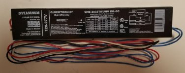 OSRAM SYLVANIA QHE 2X32T8/UNV 2 LAMP BALLAST QUICKTRONIC OUTDOOR INDOOR NEW