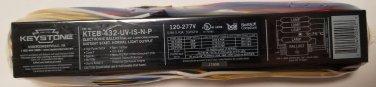 KEYSTONE ELECTRONIC BALLAST KTEB-432-UV-IS-N-P 3 or 4 T-8 Lamps 120-277V NEW