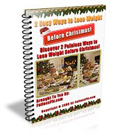 2 Ways To Lose Weight Before Christmas with MRR