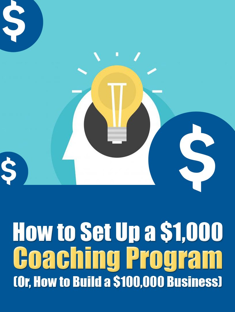How To Setup a $1000 Coaching Program with PLR