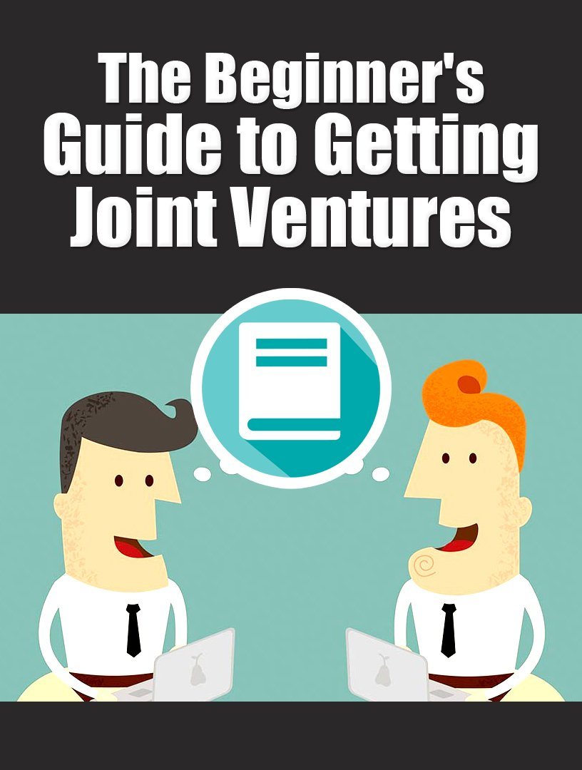 The Beginner�s Guide to Getting Joint Ventures with PLR