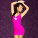 Summer Women Mini Bodycon Bandage Sexy V-Neck Sleeveless Casual Dresse W103460C
