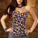 S-2XL Women Lingerie With G String Corset Top Shaperwear Bandage Underbust Gothic Overbust W580860