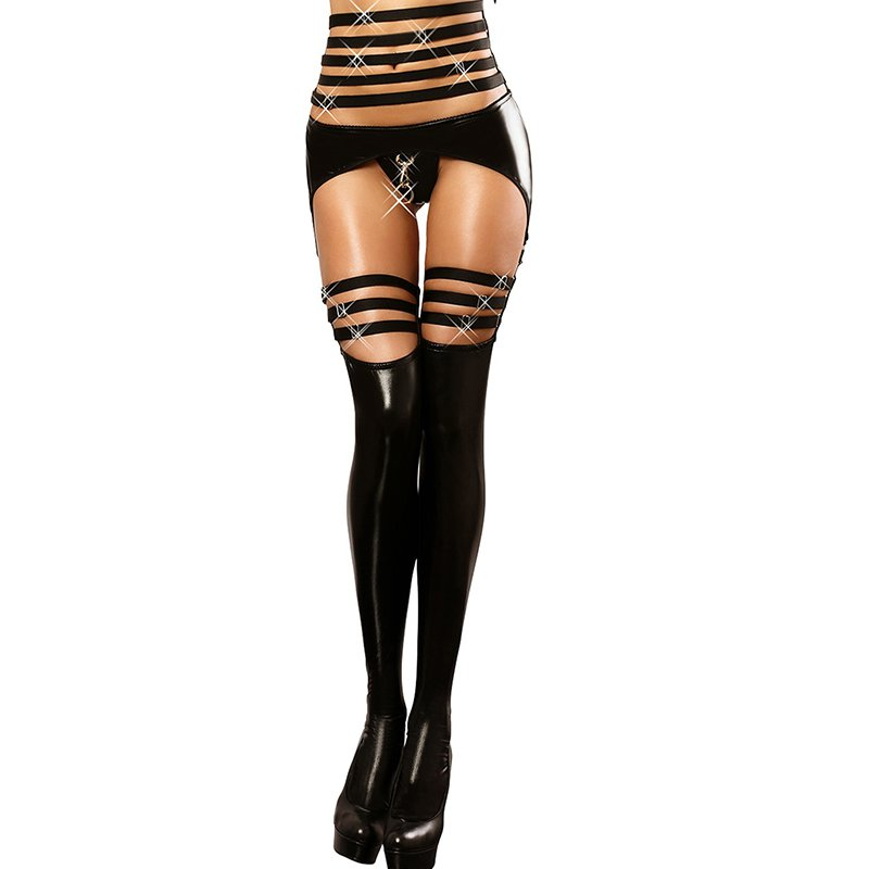 Leather Garters Intimates Skinny Garter Women Sexy Lingerie Hot Garters Stocking Belts W530602