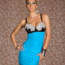 Hot Sale Sexy Women Summer Fashion Dress With Squins On the Bust Bodycon Party Dress W203177E