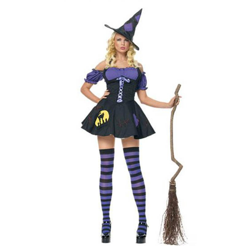 Sexy Costume Deluxe Adult Women's Magic Moment Costume Adult Witch Halloween Fancy Dress W295007