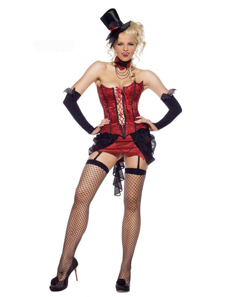 Sexy Love Bite Adult Women's Costume Deluxe Adult Costume Halloween Dress W208990
