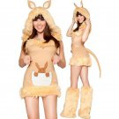 Sexy Halloween Female clothes Maomao animals red bird Cosplay Costume Halloween W418999